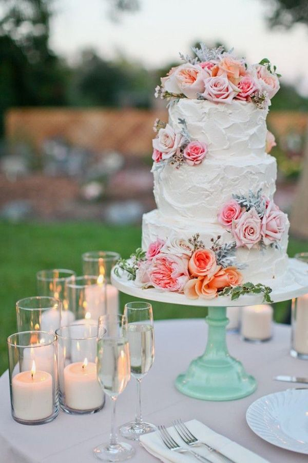 peach wedding cake design 25 best ideas about wedding cakes on 18143