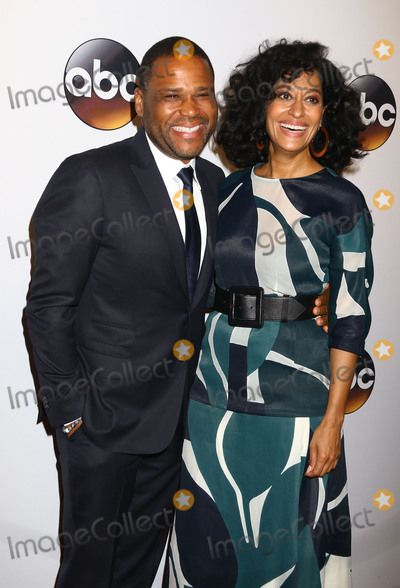 May 17, 2016 - New York, New York, U.S. - Actors ANTHONY ANDERSON and TRACEE ELLIS ROSS attend 2016 ABC Upfront Presentation held at David Geffen Hall at Lincoln Center. (Credit Image:  Nancy Kaszerman via ZUMA Wire)
