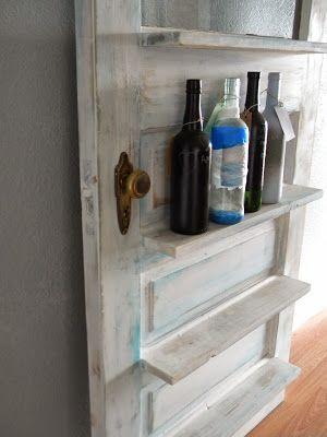 Oltre 25 fantastiche idee su vecchie porte in legno su for Riciclo bancali legno