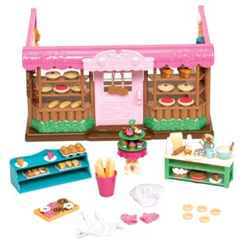 Tickle-Your-Taste-Buds Bakery, lil woodzeez....adorable --so many accesories for play with our calico critters :)