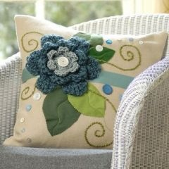 Lovely handmade cushion