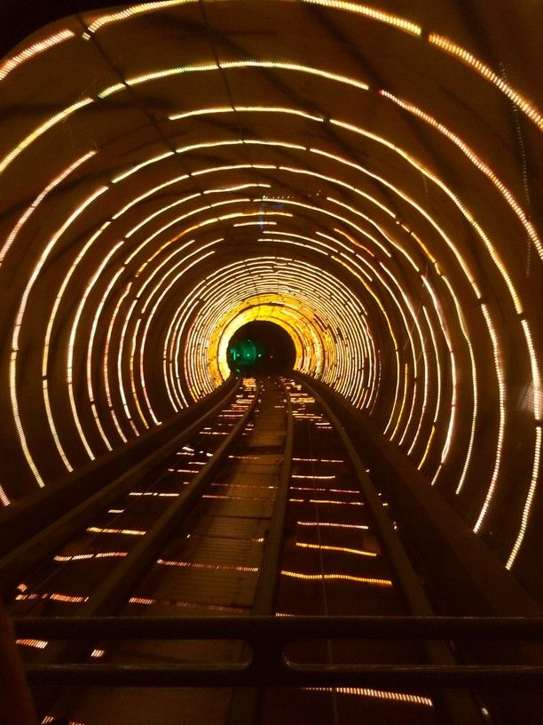 The Bund Sightseeing Tunnel, Shanghai, China — by Rebecca Peters. The Bund Sightseeing Tunnel is very kitschy and maybe more for the younger Shanghai visitors, but I loved it. It's a...