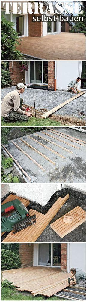 23 besten Holzterrasse Bilder auf Pinterest Garten terrasse - renovierung der holzterrasse