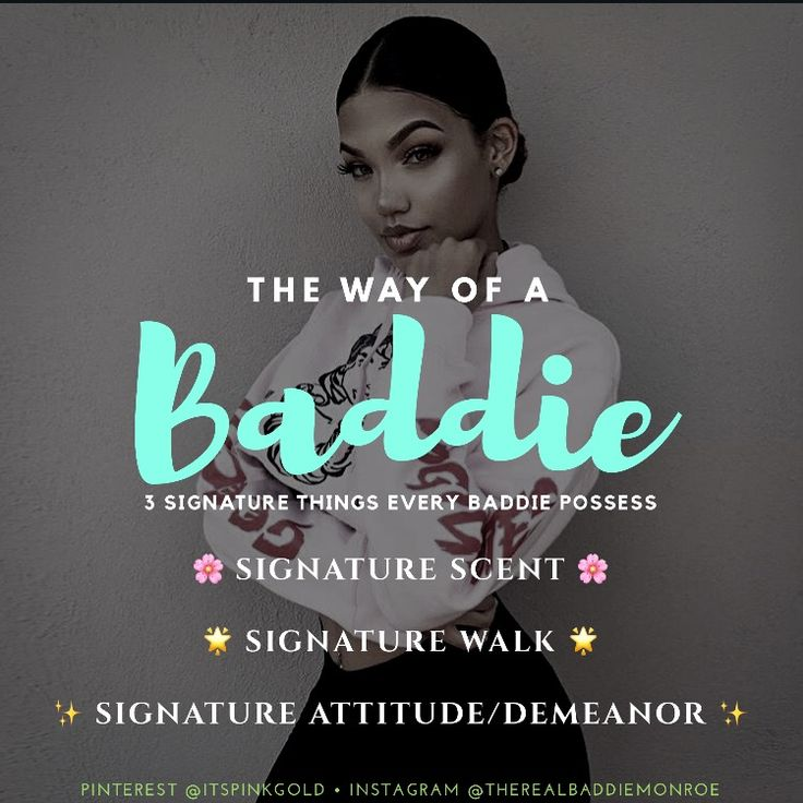 Baddie Ways by @therealbaddiemonroe -Saved from Instagram ...
