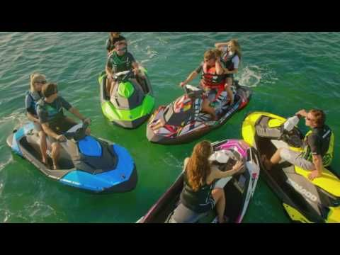 The Fun To Ride, Easy To Tow 2017 Sea Doo SPARK Is The Most Affordable,  Lightest, Compact, And Most Fuel Efficient Wat.