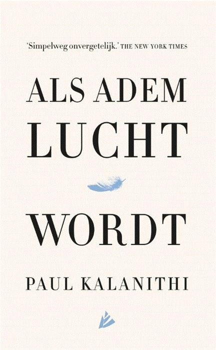 Als adem lucht wordt  Op zesendertigjarige leeftijd wordt de briljante en ambitieuze neurochirurg Paul Kalanithi gediagnosticeerd met stadium IV longkanker. Van de ene op de andere dag verandert hij van een arts die levens redt in een patiënt die moet vechten voor zijn eigen leven. De laatste 22 maanden van zijn leven besluit hij zijn grote ambitie waar te maken: een meesterlijk boek schrijven over zijn bijzondere levensloop.Wat maakt het leven nog de moeite waard als je de dood in de ogen…