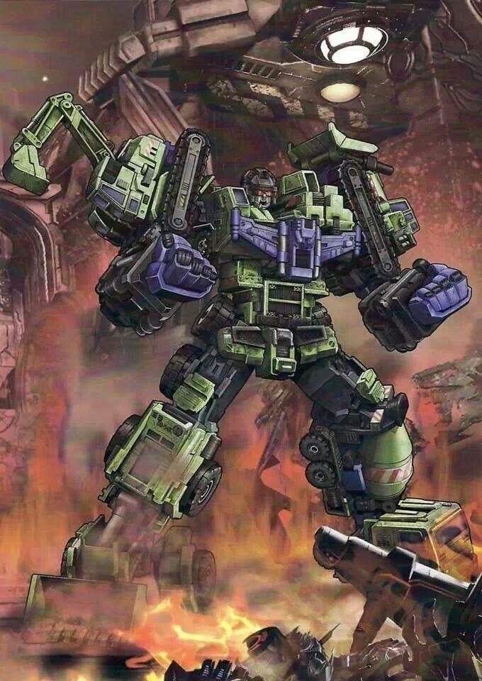 Transformers Devastator