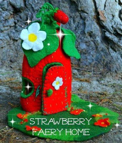 Strawberry Faery Home