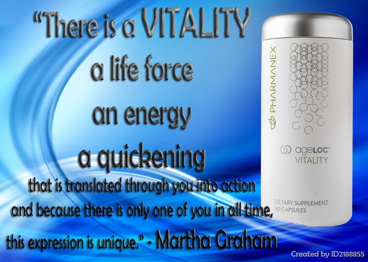 """There is a VITALITY, a life force, an energy, a quickening that is translated through you into action  and because there is only one of you in all time, this expression is unique."" - Martha Graham"