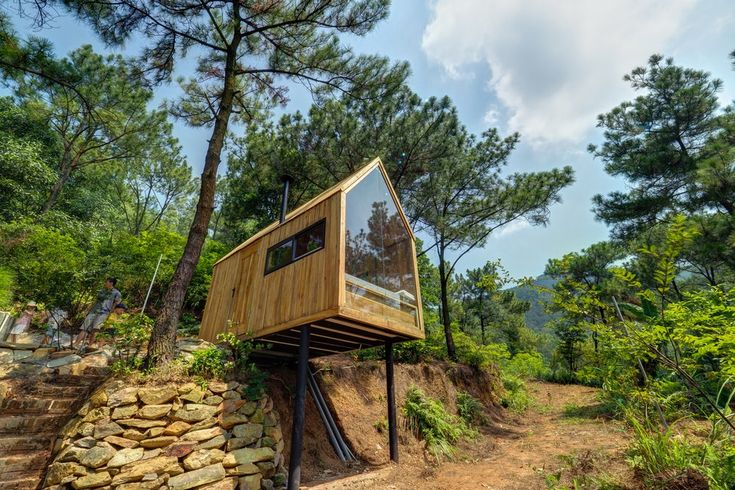 #Architecture: Vietnamese Forest House puts tiny living on stilts.