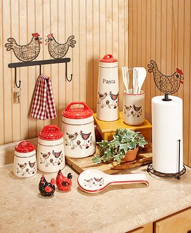 Update Your Kitchen With This Cute Rooster Themed
