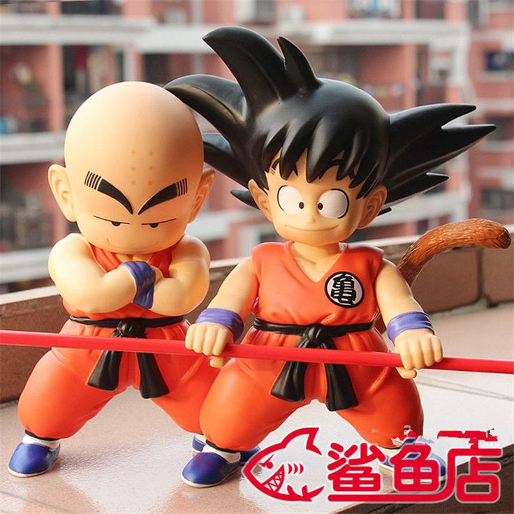 Creative Anime Dragonball Evolution Krillin Goku Home Table Decor Figure Model