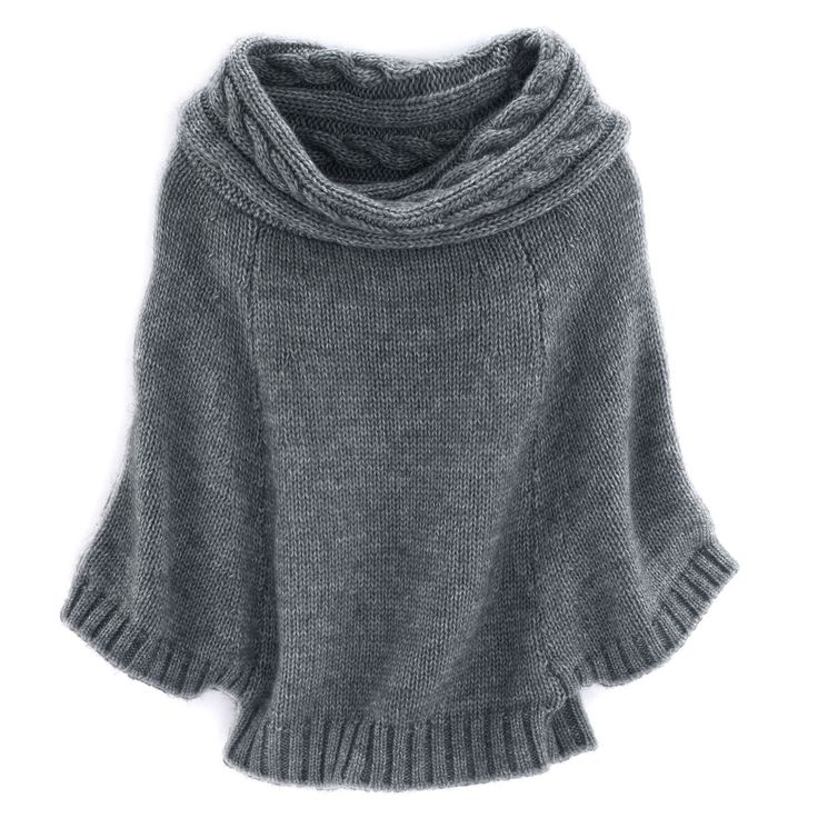 Love a wide cowl neck like this. Wondering exactly how those sleeves work?