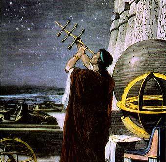 Hiparco de Nicea 150 (a. C.).Fue un astrónomo, geógrafo y matemático griego. Entre sus aportaciones cabe destacar: el primer catálogo de estrellas; la división del día en 24 horas de igual duración, mayor precisión en la medida de la distancia Tierra-Luna y de la oblicuidad de la eclíptica , elaboración del primer catálogo de estrellas que contenía la posición en coordenadas eclípticas de 1080 estrellas. Influyó en Hiparco la aparición de una estrella nova, Nova Scorpii en el año 134 a. C.