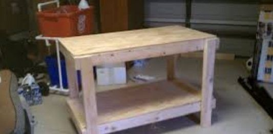 Compact Workbench Plans Garage Pinterest Workbench Plans And