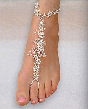 AA Bridal Foot Jewelry - Style FL901 [FL901] - $37.00 : Wedding Dresses, Bridesmaid Dresses, Prom Dresses and Bridal Dresses - Your Best Bri...