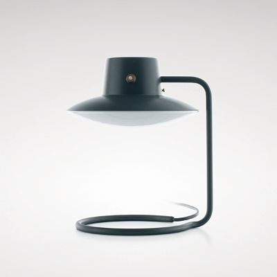 Arne Jacobsen: Oxford Lamp, 1962  Made by Louis Poulsen. Metal and glass