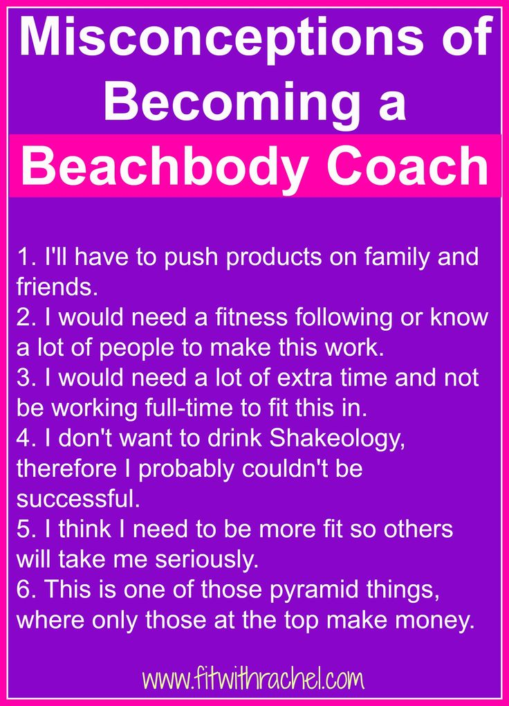 125 best beachbody coach images on pinterest challenge group misconceptions of becoming a beachbody coach colourmoves
