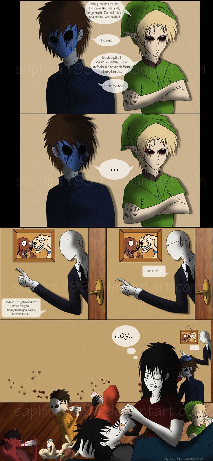 Adventures With Jeff The Killer - PAGE 28 by Sapphiresenthiss on deviantART