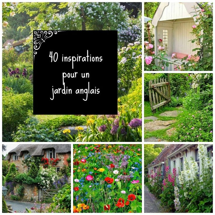 1000 id es sur le th me jardins anglais sur pinterest for Amenagement jardin anglais