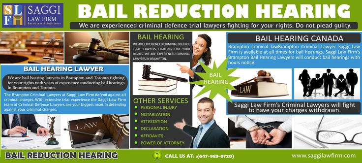 Have a peek at this website http://saggilawfirm.com/criminal-law/bail-hearings-bail-reviews/ for more information on Bail Hearing. At a contested Bail Hearing, if needed, your Saggi Law Firm lawyer can