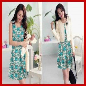 Baju Busana Mini Dress Terbaru S415