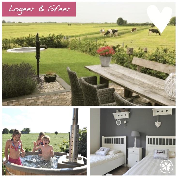 Adresje van de week: Logeer & Sfeer Deze leuke vakantiewoning (5 pers.) ligt op een prachtige plek op de grens van de Achterhoek en de Veluwe. In de tuin bevindt zich een houtgestookte hottub en trampoline. Wat een heerlijk plekje om te ontspannen! http://bijzondere-adresjes.nl/home/logeer-sfeer
