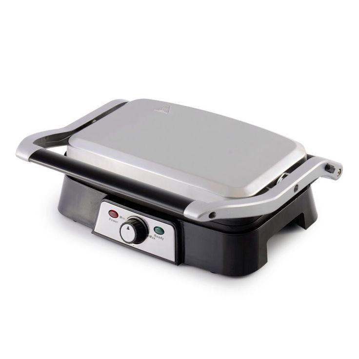KCASA KC-FM10 Burger Grill Sandwich Maker 2-slice Panini Maker Press Steak Griller Kitchen Appliance