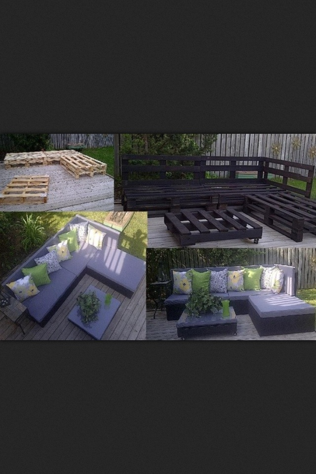Ways to use pallets