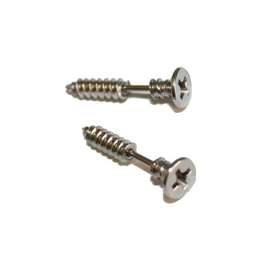 Screw Earrings 90's Style Earrings Hardware Contractor