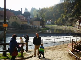 """Po stopách """"vodáku"""" - Vltava, Český Krumlov, podzim 2014"""