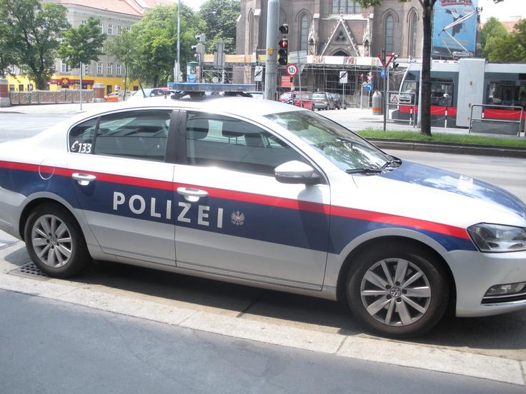 vienna police car =) they sound so weird My Study Abroad