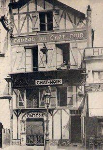 Chat-noir. c. 1900