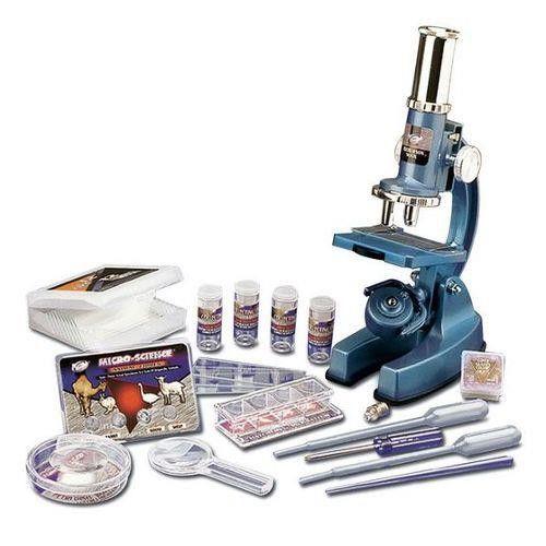 Microscope de luxe 900x et mallette - EASTCOLIGHT