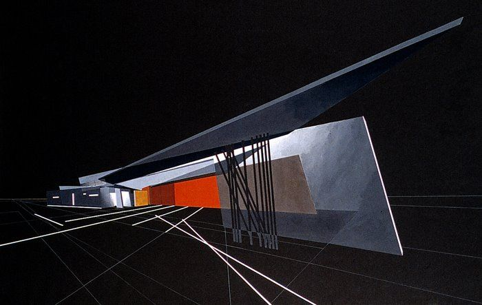 AD Classics: Vitra Fire Station / Zaha Hadid vitra rendering – ArchDaily