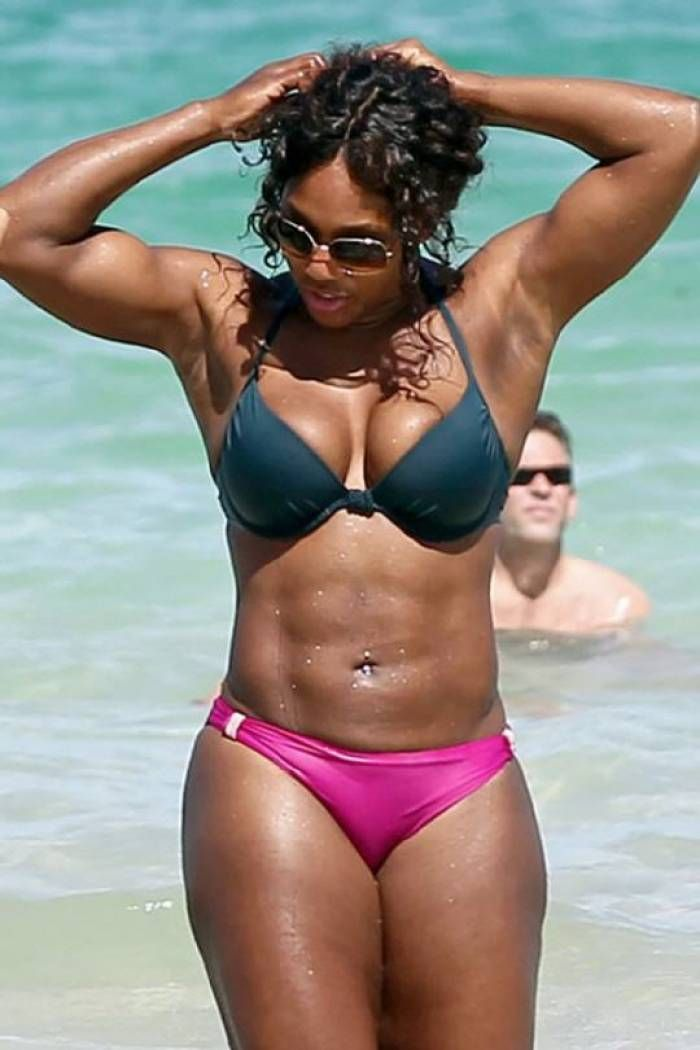 Serena williams real live naked more