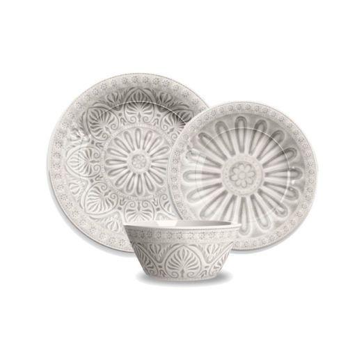 Ibiza 12 Piece Melamine Dinnerware Set by TarHong #TarHong