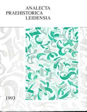The End of our Third Decade (volume II)  This volume is the second of a set of two dealing with papers written on the occasion of the 30th anniversary of the Institute of Prehistory Leiden University. It contains 18 articles on different subjects including the Early Bronze Age to the Gallo-Roman period in Europe excavations in the Caribbean pre-ceramic sites in Colombia a project in Mali pollen from coprolites organic residue analysis in pots artificial intelligence and underwater heritage…