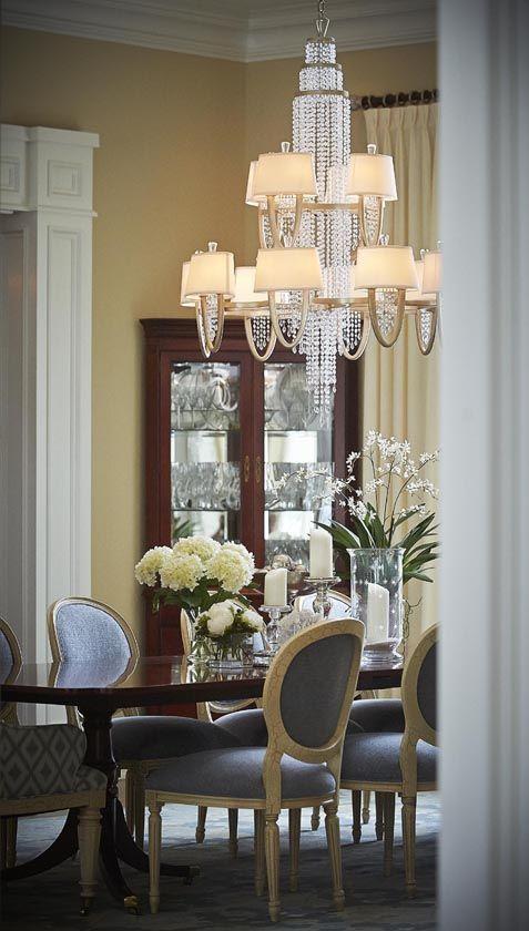 Elegant Fine DiningFamily RoomDining RoomsChandeliersOutdoor