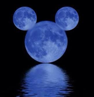 Mickey Mouse Moon