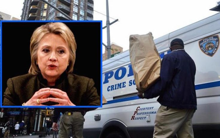 """New York Police Department (NYPD) detectives have uncovered evidence of a 'child sex ring' on Anthony Weiner's laptop that they say could """"put Hillary Clinton away for life""""."""