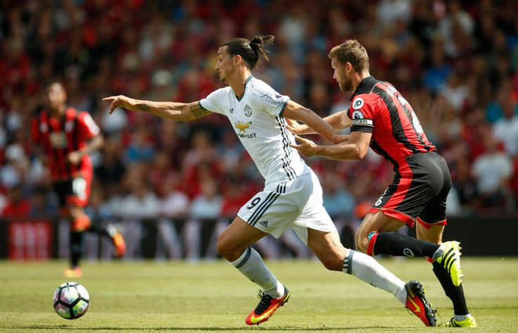 """""""Manchester United's Zlatan Ibrahimovic is A DEFENDER'S NIGHTMARE reveals Bournemouth defender Steve Cook"""" -- Steve Cook has warned English football Zlatan Ibrahimovic is a nightmare to control. [Yep.] """"He's a tough nut, strong and hard to get the ball off. """"When it goes out wide you worry where he is. If it goes anywhere near him in the box, ten times out of ten he's going to win it."""" :)"""
