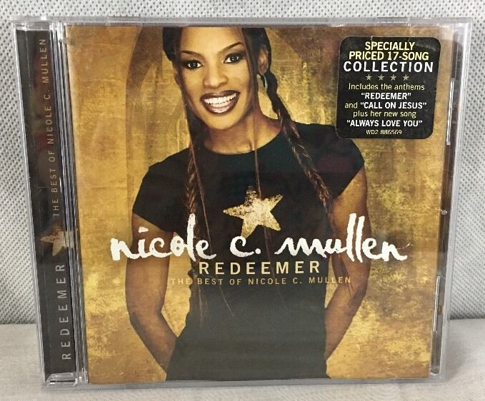"NICOLE C. MULLEN ""Redeemer: The Best of Nicole C. Mullen""  17 Song collection #Christian"