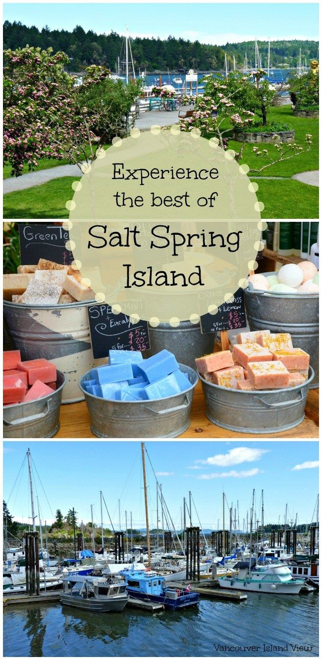 If you are heading to Vancouver Island this Summer make sure to visit Salt Spring Island for a truly unique experience.