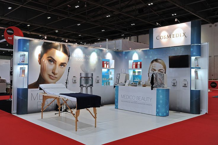 Exhibition Stand Medical : Modular exhibition stand for medical beauty at the