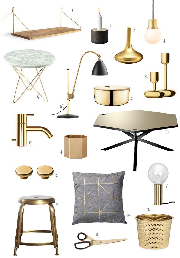 Trend to Watch: Brass Revival | NordicDesign
