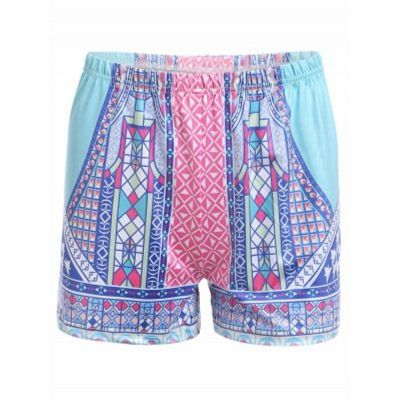 SpecificationsProduct DetailsStyle: Fashion Length: Mini Material: Polyester Fit Type: Loose Waist Type: High Closure Type: Elastic Waist Front Style: Flat Pattern Type: Print Weight: 0.370kg Package Contents:...
