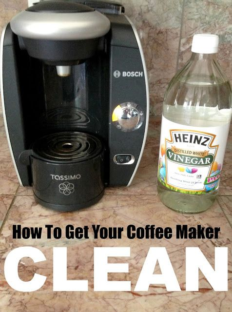 25+ best ideas about Clean coffee makers on Pinterest Descale keurig, Descale coffee machine ...