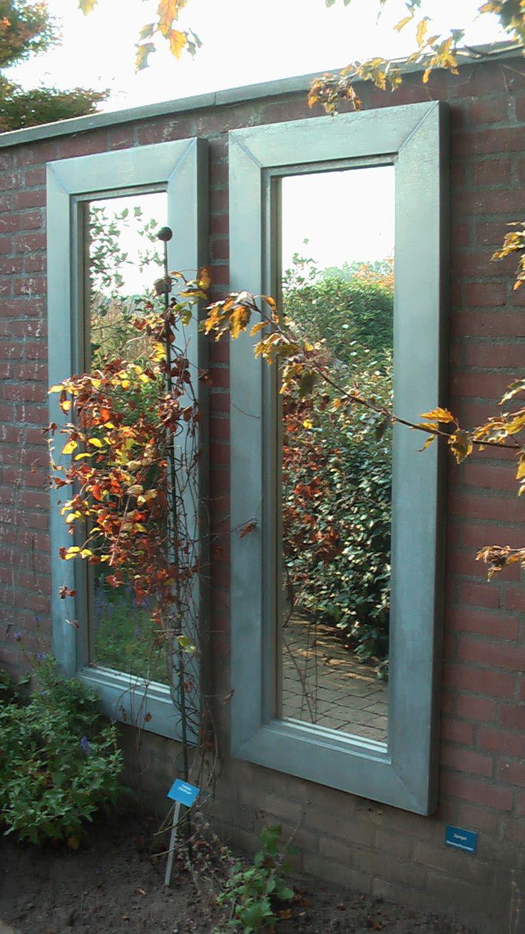 1000 idee n over buiten spiegel op pinterest tuin spiegels kleine tuinen en tuinontwerp - Kleine tuin zen buiten ...