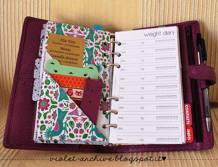 violet-archive: Free Printables Dividers with pockets